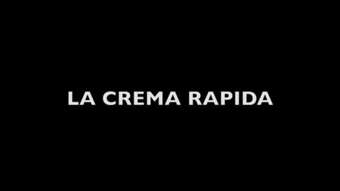 Thumbnail for entry Crema Rapida