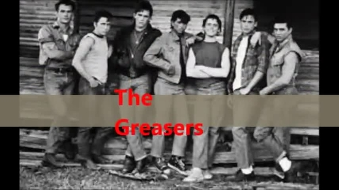 Thumbnail for entry The Outsiders S.E. Hinton