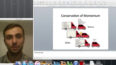 Thumbnail for entry Conservation of Momentum