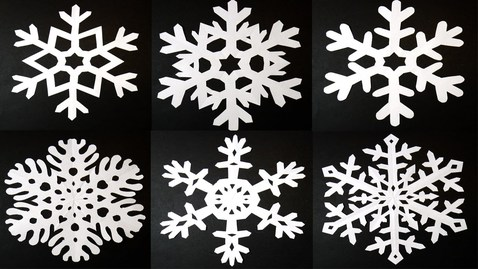 Thumbnail for entry PAPER SNOWFLAKES