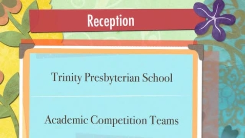 Thumbnail for entry Academic Awards Reception
