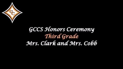 Thumbnail for entry Third Grade Honors Day Awards.mp4
