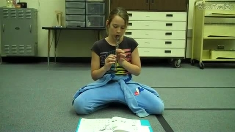 Thumbnail for entry Shelby T. 2011 recorder solo