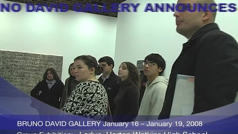 Thumbnail for entry Bruno David Art Gallery Promo