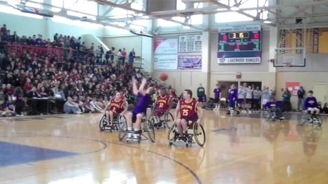 Thumbnail for entry Wheelchair Basketball: Cleveland Cavs vs. LHS Rangers