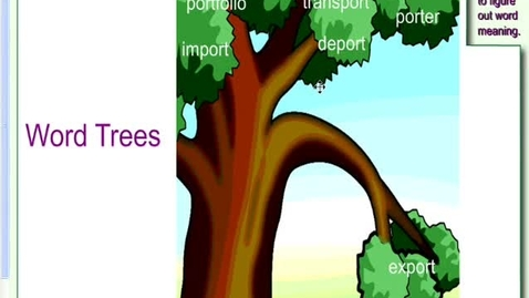 Thumbnail for entry Word Tree Podcast:Port