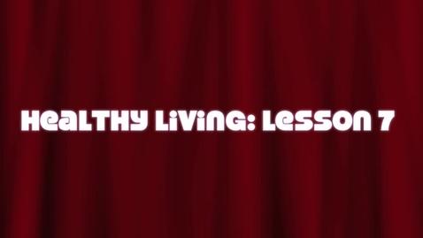 Thumbnail for entry Fort Dodge Senior High: Dodger Time! Healthy Living Lesson 7