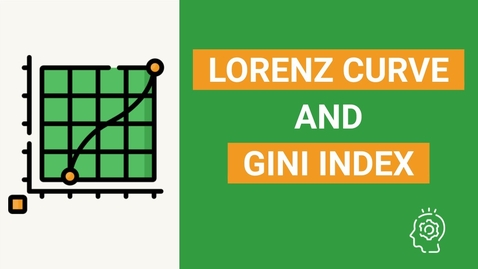 Thumbnail for entry Lorenz curve and Gini coefficient explained | Measure of Income Inequality