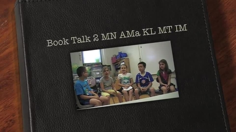 Thumbnail for entry Book Talk MN MT AMa KL IM