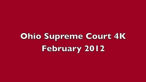 Thumbnail for entry Ohio Supreme Court Trial 4K