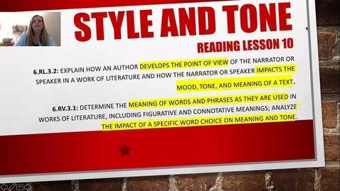 Thumbnail for entry Reading Lesson 10