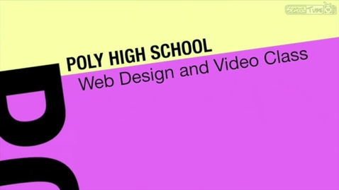 Thumbnail for entry Poly Web Design and Video Class Short Version