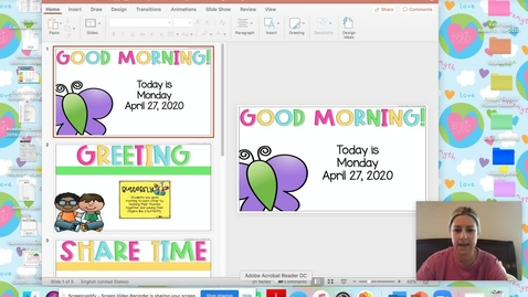 Thumbnail for entry Morning Meeting April 27
