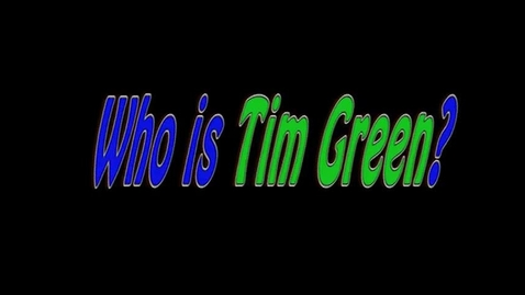 Thumbnail for entry Tim Green coming to HCMS 2016