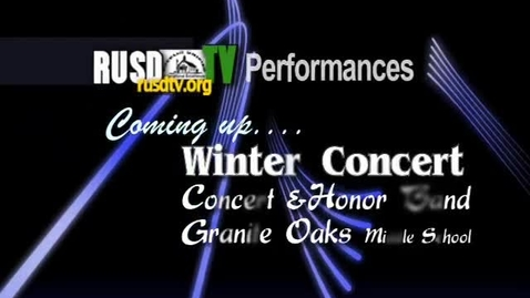 Thumbnail for entry Granite Oaks Winter Band Concert