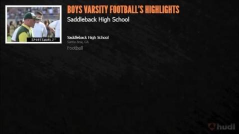 Thumbnail for entry SHS Football Highlights