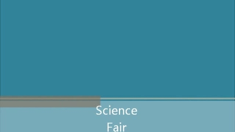 Thumbnail for entry Science Fair 5B