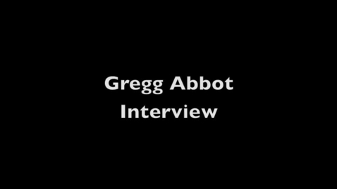 Thumbnail for entry Gregg Abbott School Townhall 254 With Texas Students