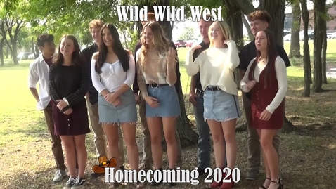 Thumbnail for entry 2020 Hays High School Homecoming Royalty Video