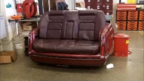 Thumbnail for entry part two of the 97 cadillac couch build