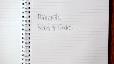Thumbnail for entry Livescribe Echo Smart Pen Demo 3