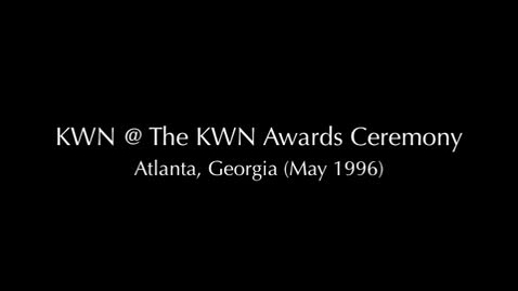 Thumbnail for entry (1996) KWN @ The Kid Witness News Awards in Atlanta, Georgia