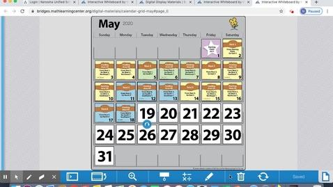 Thumbnail for entry May 19 Calendar