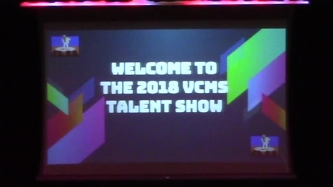 Thumbnail for entry VCMS 2018 Talent Show 3-29-2018