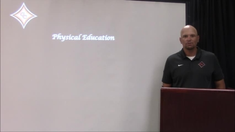 Thumbnail for entry Physical Education Awards