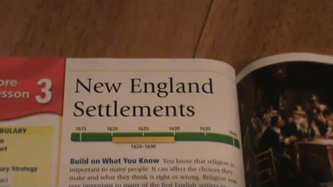 Thumbnail for entry New England Settlements
