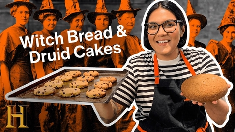 Thumbnail for entry Did this bread cause the Salem Witch Trials? | Ancient Recipes With Sohla