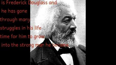 Thumbnail for entry Frederick Douglass by Jessie Bobish