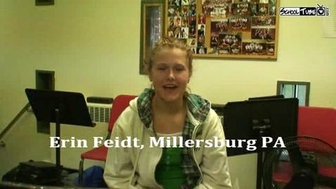 Thumbnail for entry Erin Feidt - Self Introduction
