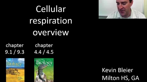Thumbnail for entry Overview of cellular respiration