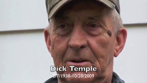 Thumbnail for entry Tribute to memory of dick temple
