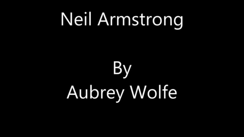 Thumbnail for entry Neil Armstrong - Engineer