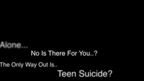 Thumbnail for entry Suicide Awareness