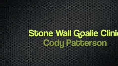 Thumbnail for entry Cody's Goalie Clinic