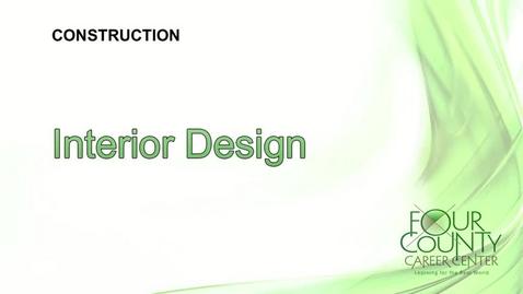 Thumbnail for entry FCCC - Interior Design 2017
