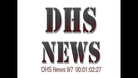 Thumbnail for entry Sept 7, 2012 News