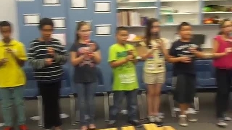 Thumbnail for entry Mr. Santiago's 5th grade class playing recorder