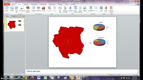 Thumbnail for entry PowerPoint Infographics - Insert Shapes and Clipart Icons
