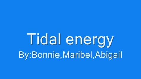 Thumbnail for entry Tidal Energy - 609