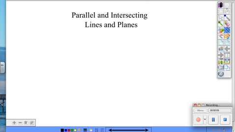 Thumbnail for entry BGeo 1.3 Parallel and Intersecting Lines and Planes