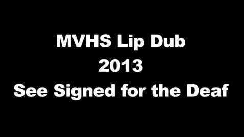 Thumbnail for entry Mount Vernon Lip Dub