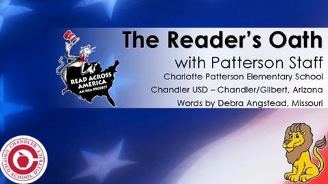 Thumbnail for entry Reader's Oath - Read Across America 2012