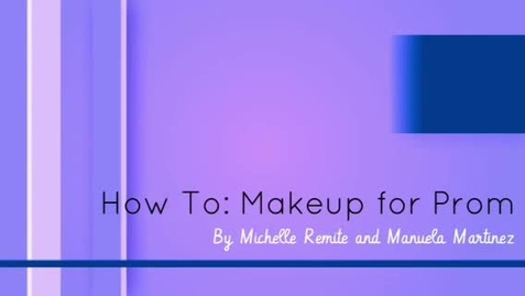 Thumbnail for entry How To: Prom Makeup