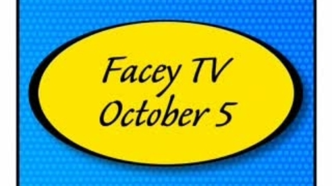 Thumbnail for entry Facey TV Oct. 5, 2010