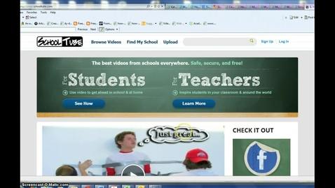Thumbnail for entry Schooltube Educator Account