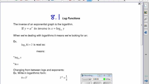 Thumbnail for entry PC30 8.1 Understanding Logs